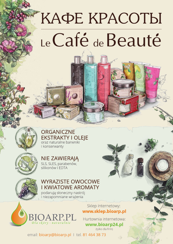 Ulotka LE CAFE DE BEAUTE